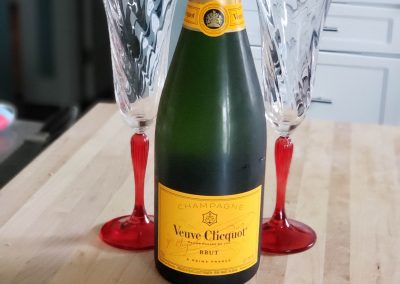 Veuve Clicquot at home