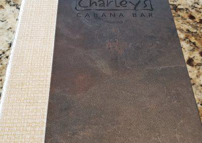 Charley's Cabana Cove Menu