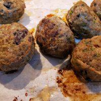 Greek Inspired Lamb Meatballs